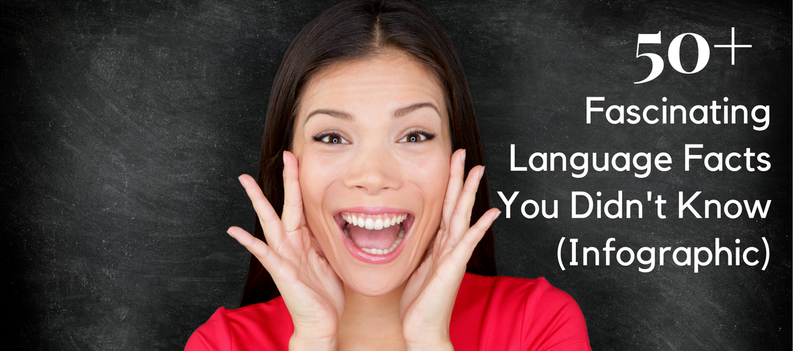 50+ Fascinating Language Facts You Didn't Know (Infographic)