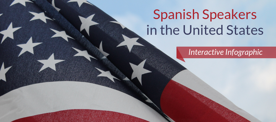 Spanish Speakers in the United State: Interactive Infographic