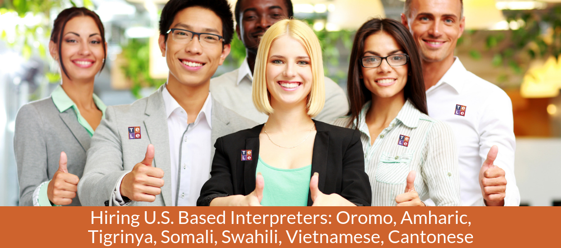 Telelanguage is Hiring U.S. Based Interpreters for These 7 Languages! (Apply Online Today)