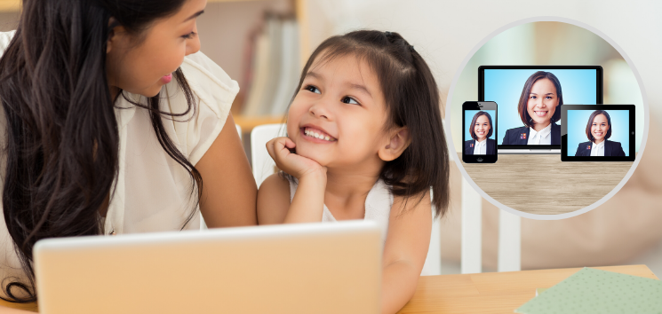 video interpreters for education and distance learning video Conferencing